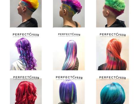 Capelli colorati a Carnevale e quali colori scegliere, ecco i 5 consigli di Perfect Crazy, parrucchi