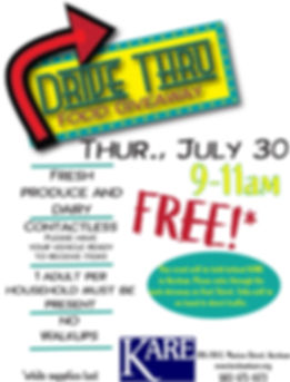 FLYER - KARE Drive-Thru July 30th.jpg