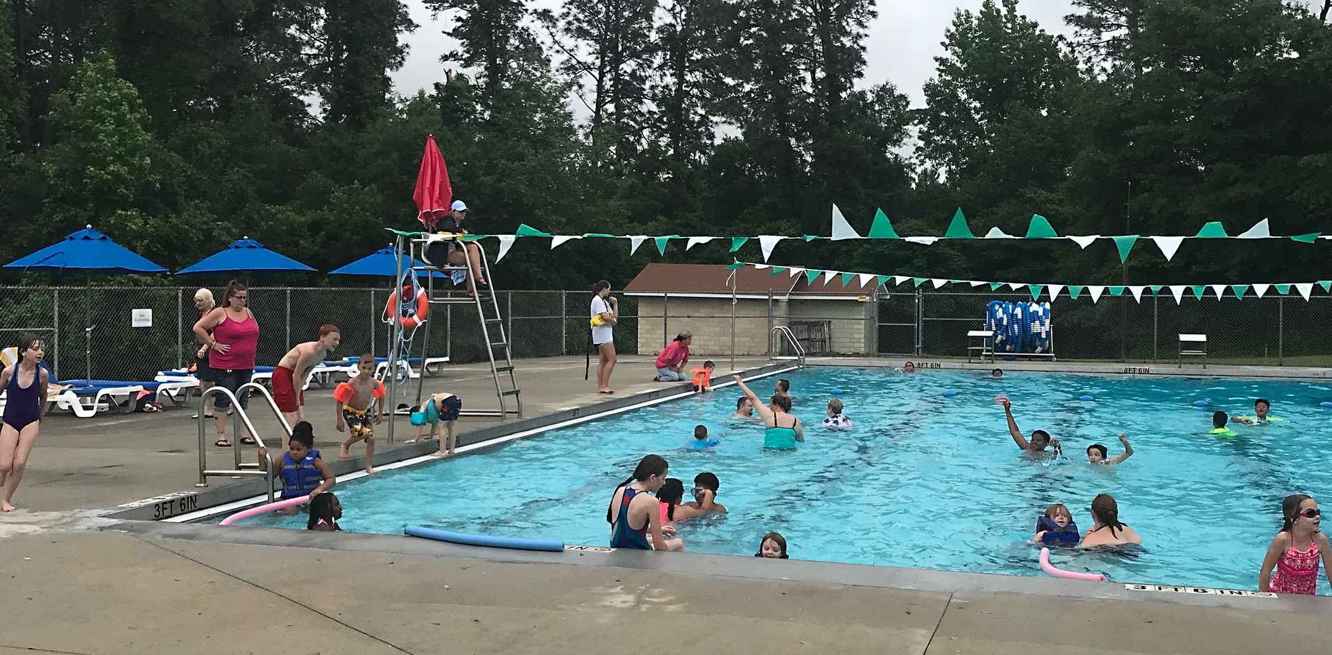 STEVENS PARK SWIMMING POOL 2018