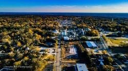 Drone photo of Kershaw, South Carolina