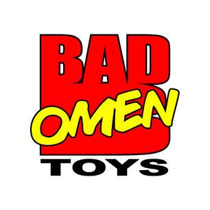 Bad Omen Toys - Marvel Comics style logo