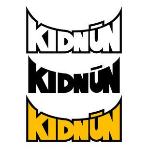Kidnun logo - all custom lettering varia