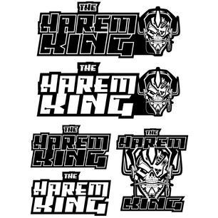 Harem King logos - bw.jpg