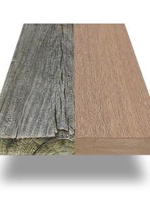Agining Wood vs Composite