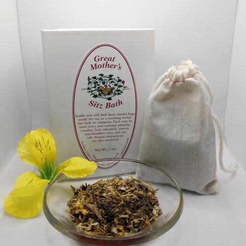 Great Mother's Herbal Sitz Bath