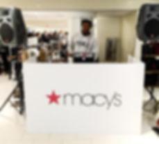 DJ gWiz Macy's