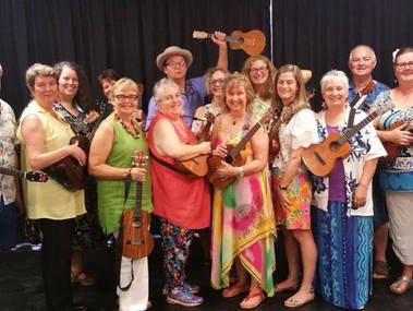 The Outlaws Big Ukulele Band