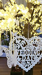 'Wedding Day' sign on the Wedding Wishes Tree