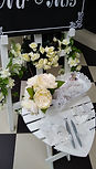 White Ceremony Heart Table