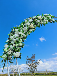 Moon Archway Flowers