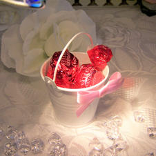 Wedding Pails with Ruffles  £2.99 each