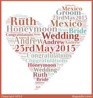 Personalised Wedding artwork