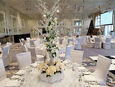 Manzanita Tree Table Centrepieces at Trump Turnberry Resort
