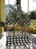 Hanging White Metal Bird Cage.jpg