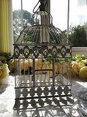 Hanging White Metal Bird Cage.jpg