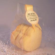 Shortbread Hearts Wedding Favours  £2.99 each