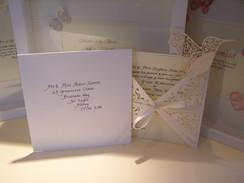 Handwritten Wedding Invitations