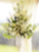 Wedding Pedestal Flower Arrangements