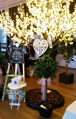Wedding Wishes Tree
