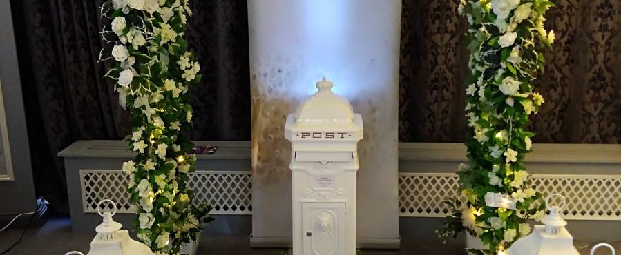 Wedding Archway and Lanterns