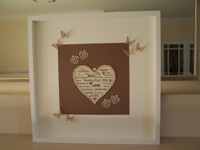 'Love' image for weddings and celebrations