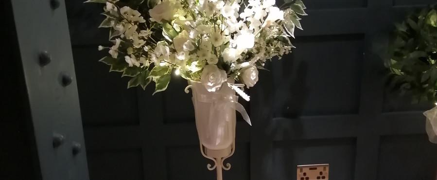 Pedestal Flower Arrangement