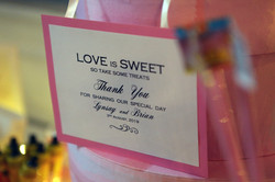 Candy Cart Signs