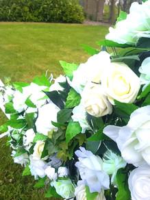 Moon Wedding Archway Flowers