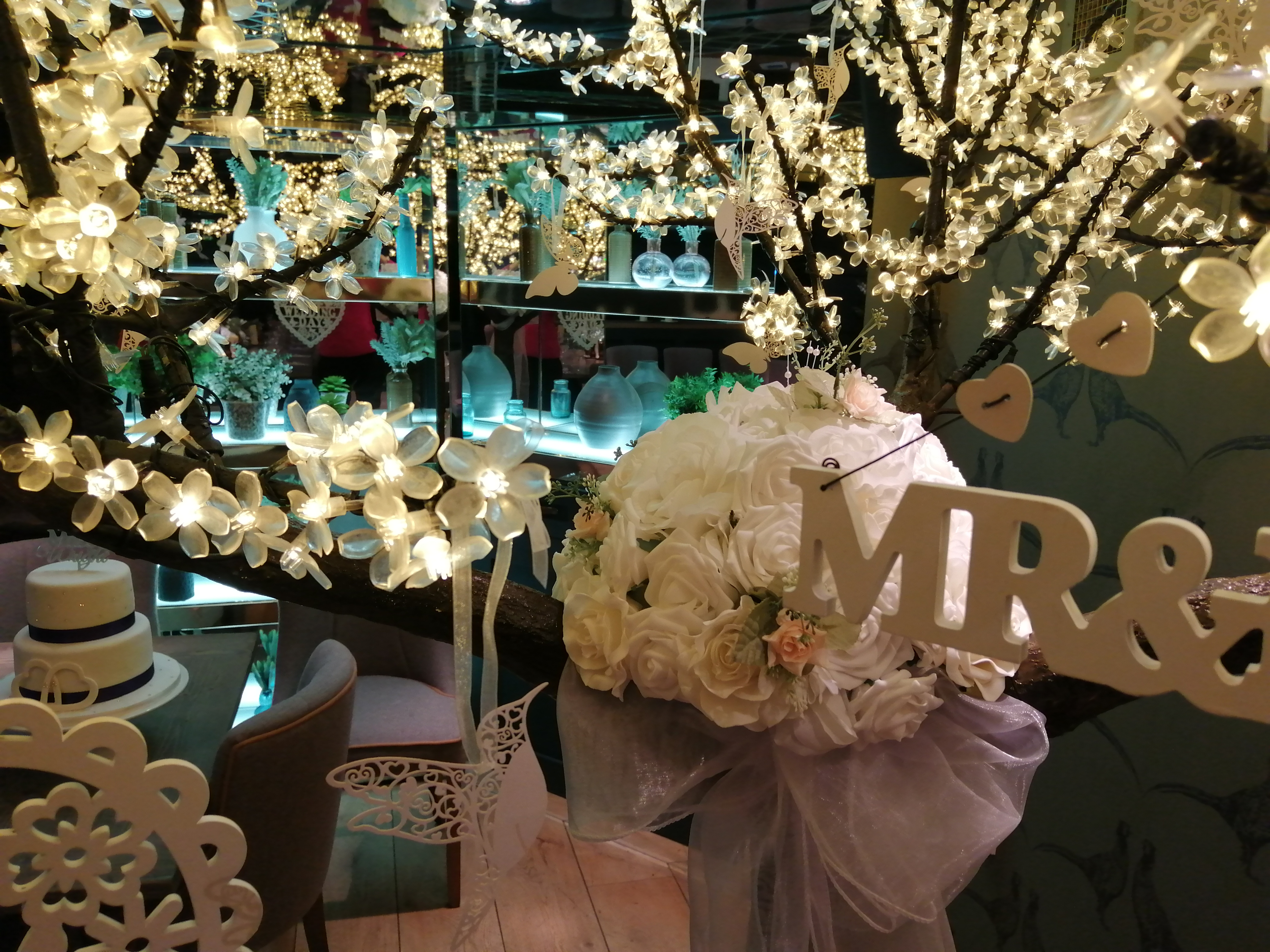 Wedding Wishes Tree at The Boffy