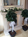 Bay Trees with organza sashes.jpg