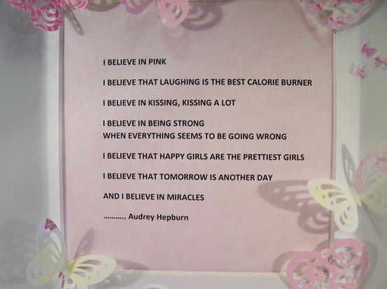 Beautiful words from Audrey Hepburn