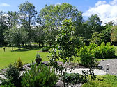 Landscaped grounds at Limelight Weddings, Kinross