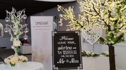Cherry Blossom Wedding Wishes Tree at Mar Hall, Glasgow