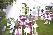 Marquee Hire with Wedding Decor Package
