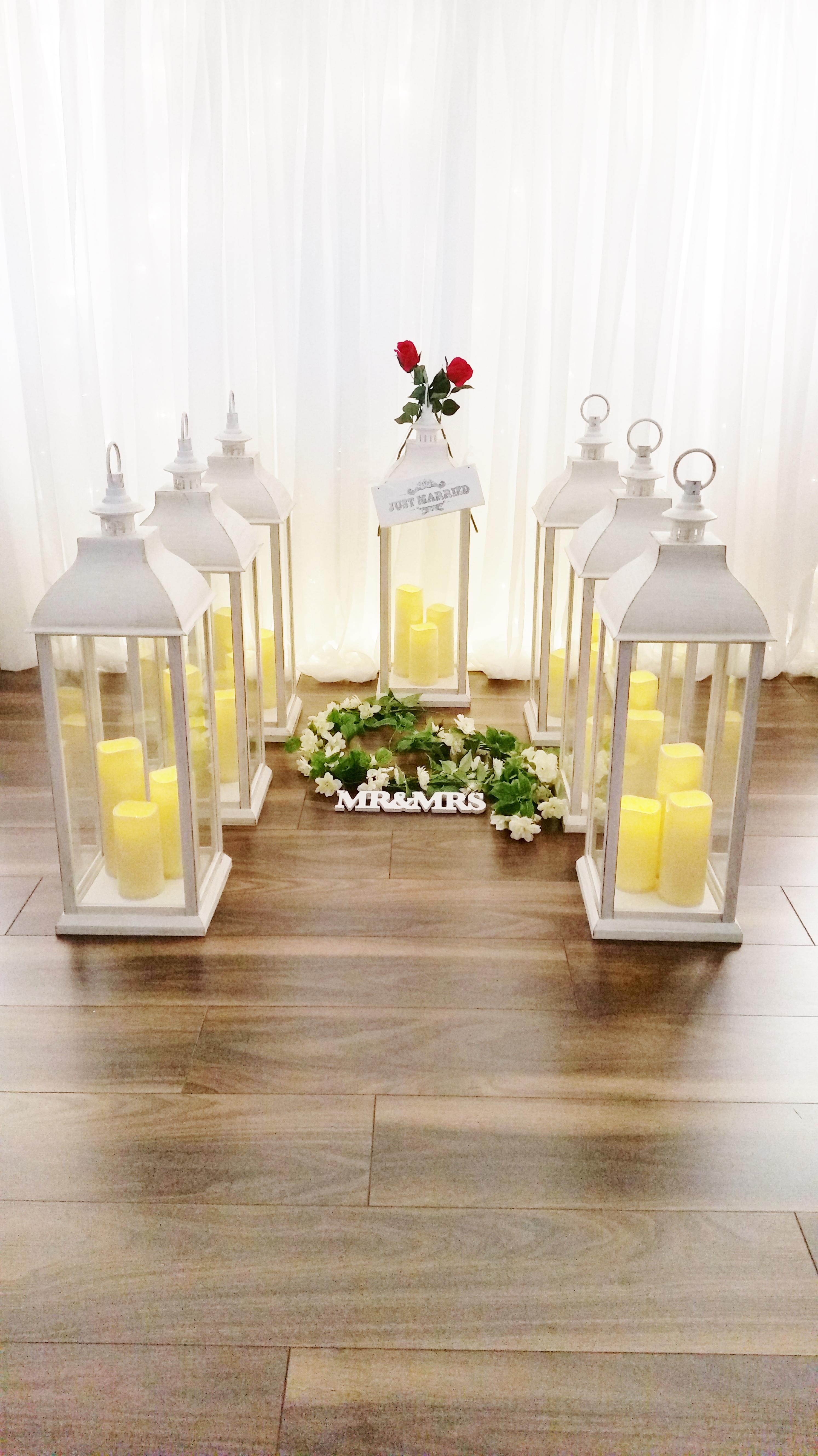 Wedding Lanterns at Limelight Weddings
