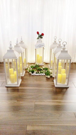 Tall Wedding Lanterns