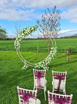 Moon Wedding Archway