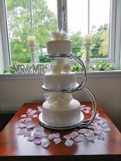 Swan Cake Stand