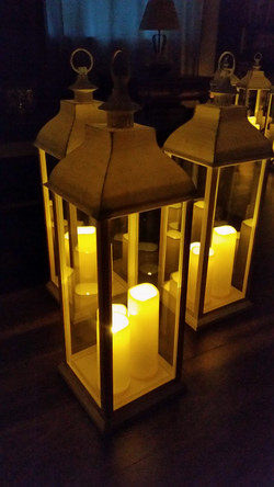 Tall Aisle Lanterns