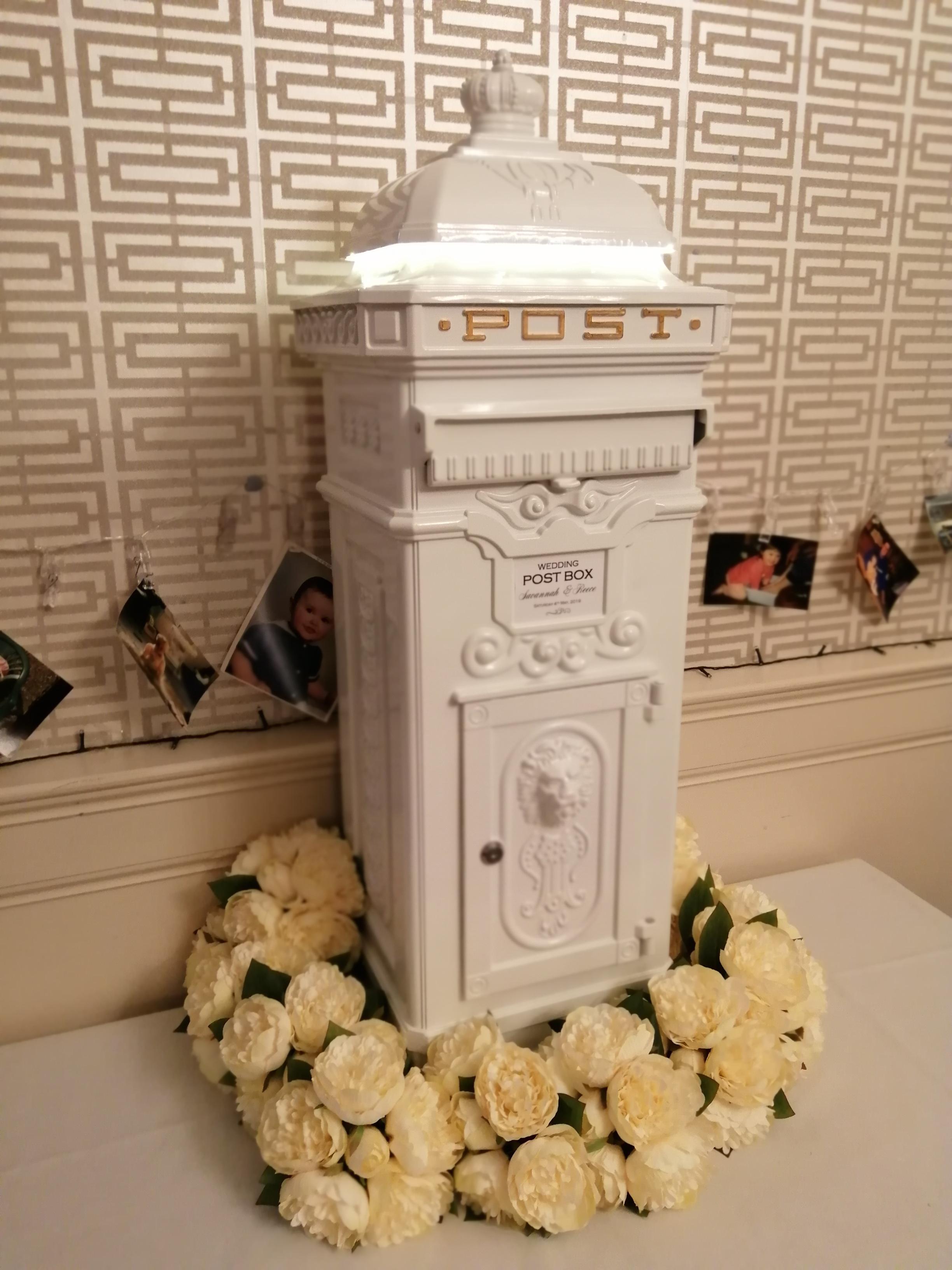 Wedding Post Box