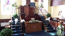 Collessie Church Floral Displays