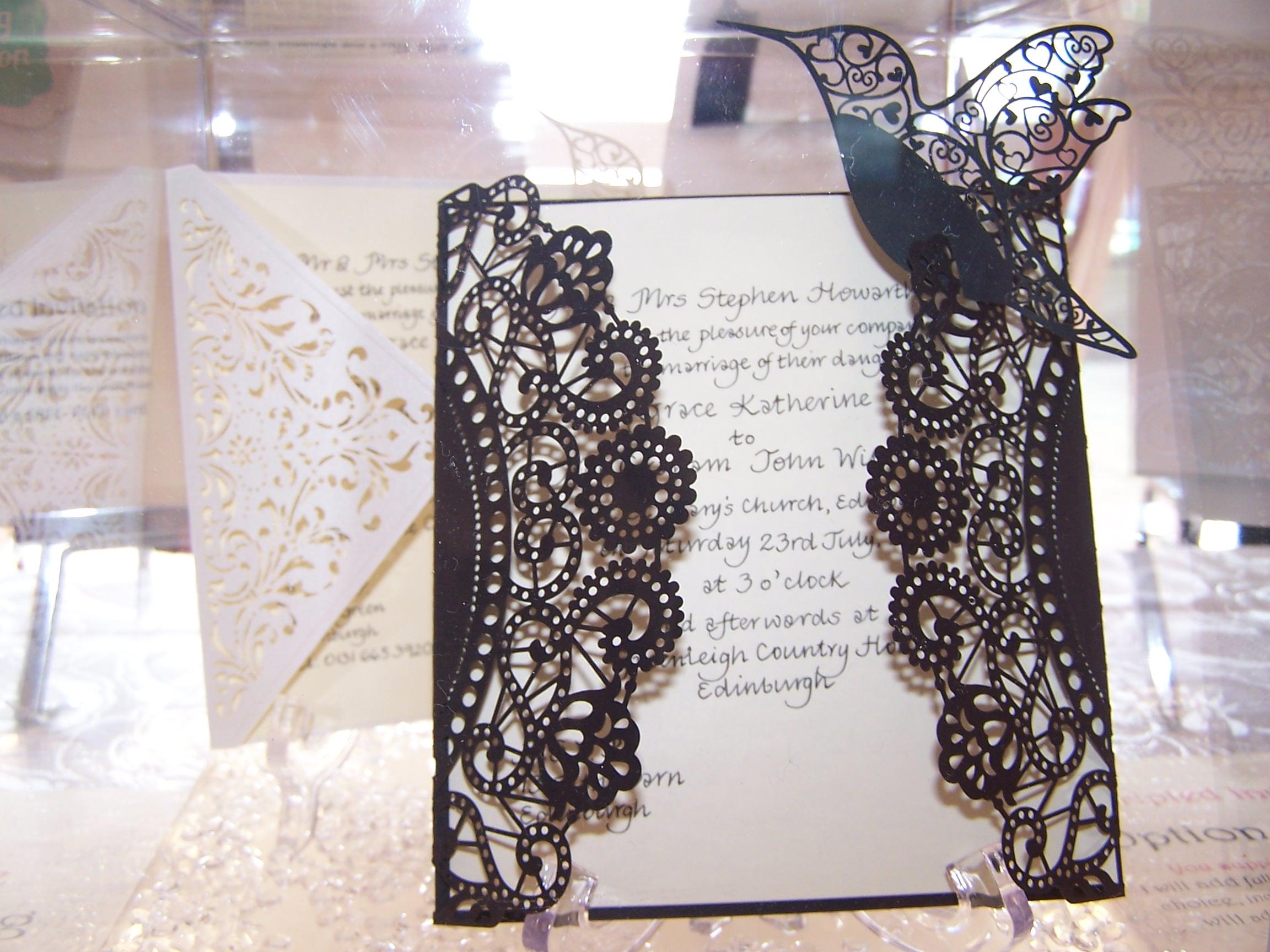 Handwritten Calligraphy - Wedding Invita