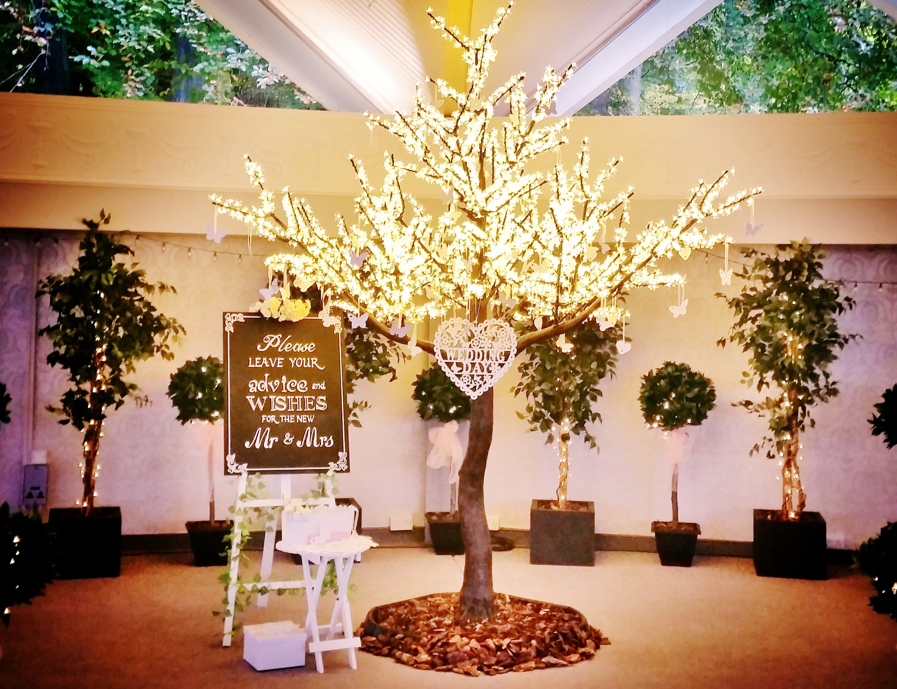 Wedding Wishes Tree at Atholl Palace