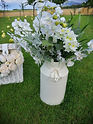 Milk Churn with flowers and foliage_2 .j