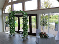 Wedding Archway and Pedestal Flower Arra