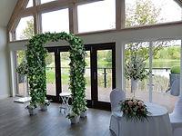 Wedding Archway and Pedestal Flower Arra