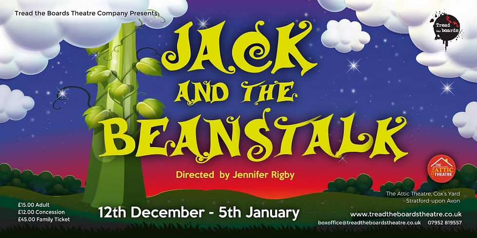 Reviewing Tread The Boards' - Jack and the Beanstalk