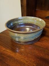 Large Northern Lights dog bowl