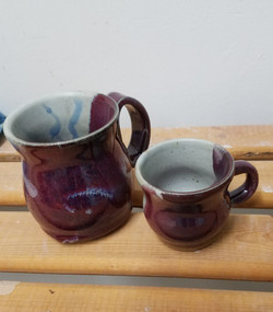 Adult and Child mugs