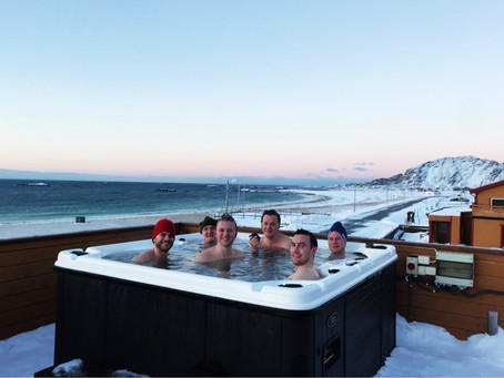 Hot pool!